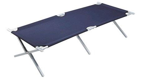lit de camp pliable en aluminium lit picot. Black Bedroom Furniture Sets. Home Design Ideas