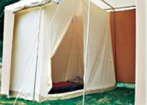 Chambre int rieure pour la tente mini marabout carbet for Tente deux chambres