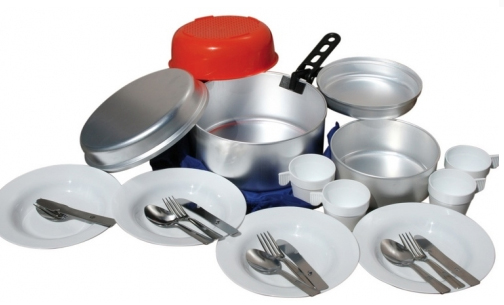 Popotes en aluminium garnies pour collectivit s for Cuisine pour collectivite