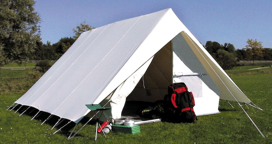 grande tente patrouille en coton 2 50m x4m. Black Bedroom Furniture Sets. Home Design Ideas